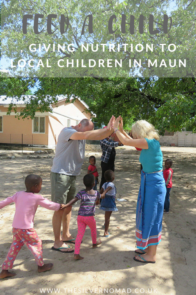 Feed a Child, giving nutrition to local children in Maun