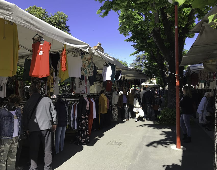 Saturday Street Market in Imola