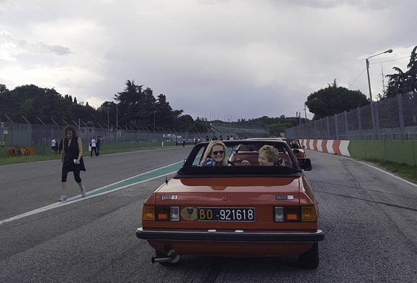 The best way to see the Imola circuit