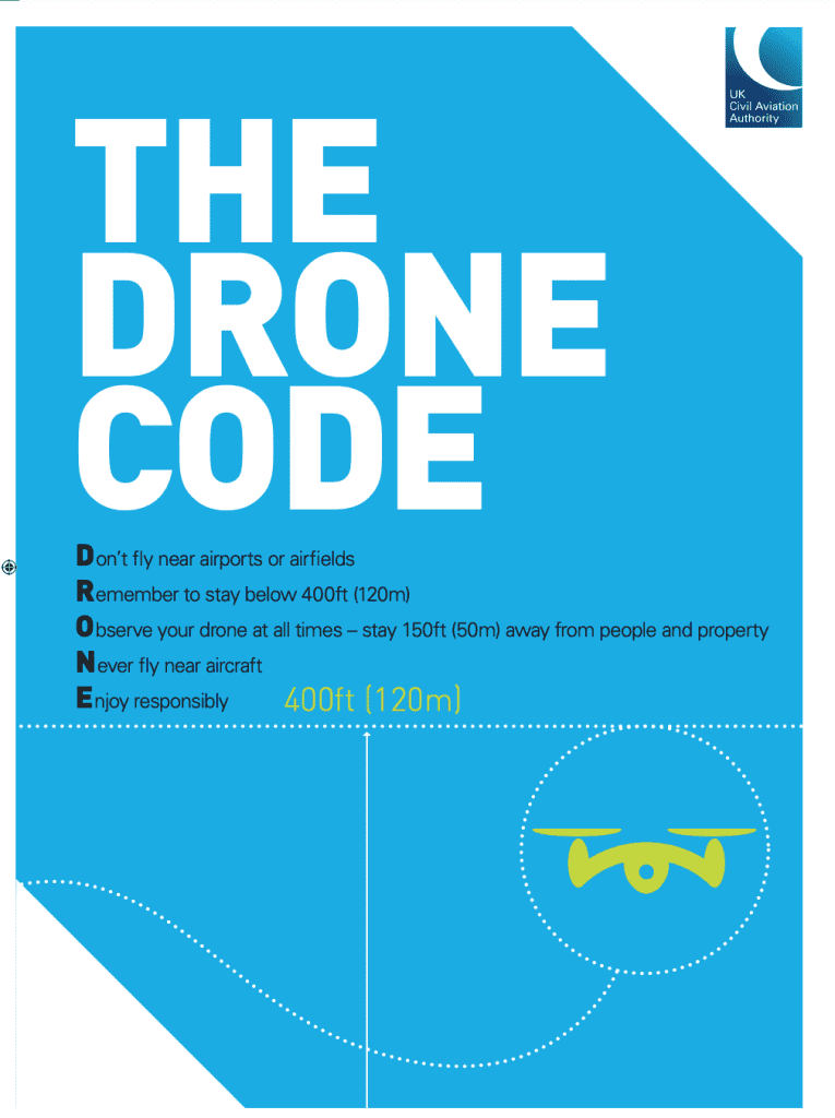 The Drone Code from the CAA