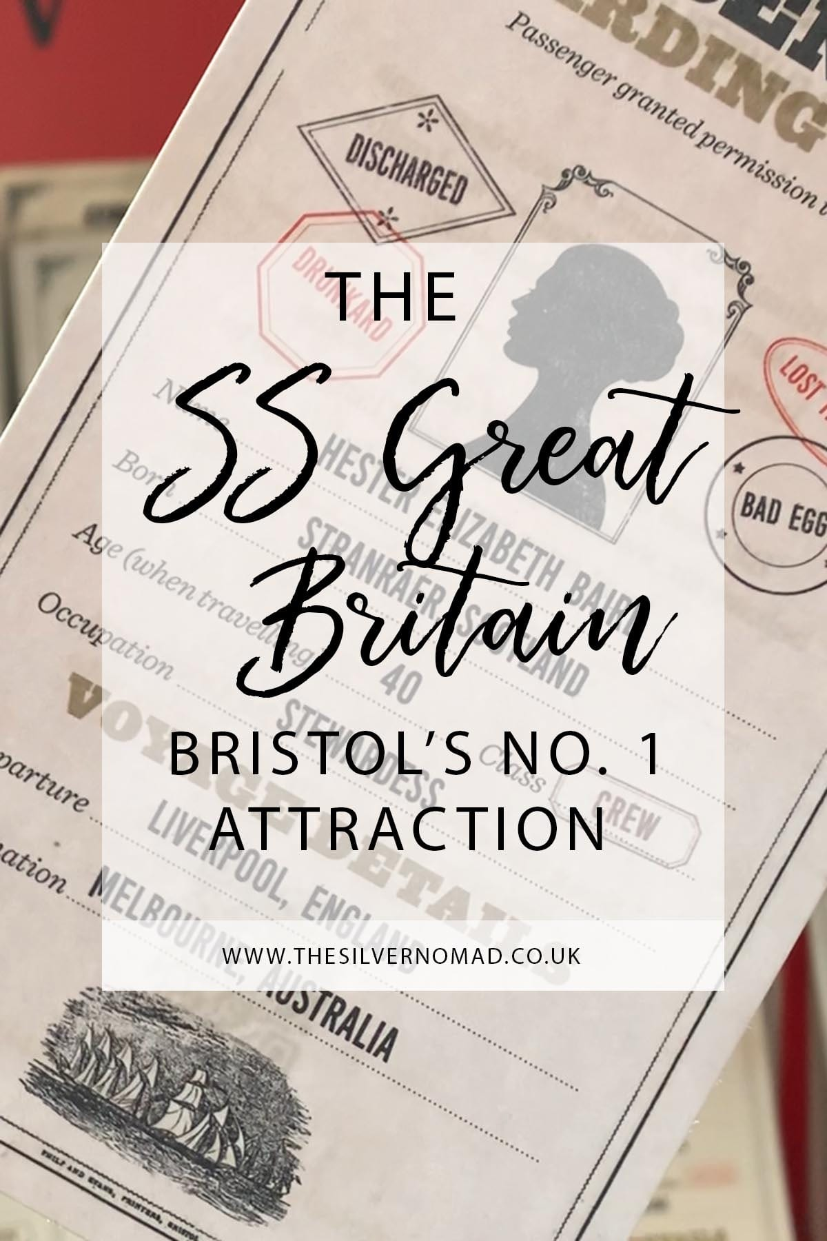 Come aboard the SS Great Britain and experience what it was like to be on board in 1840s