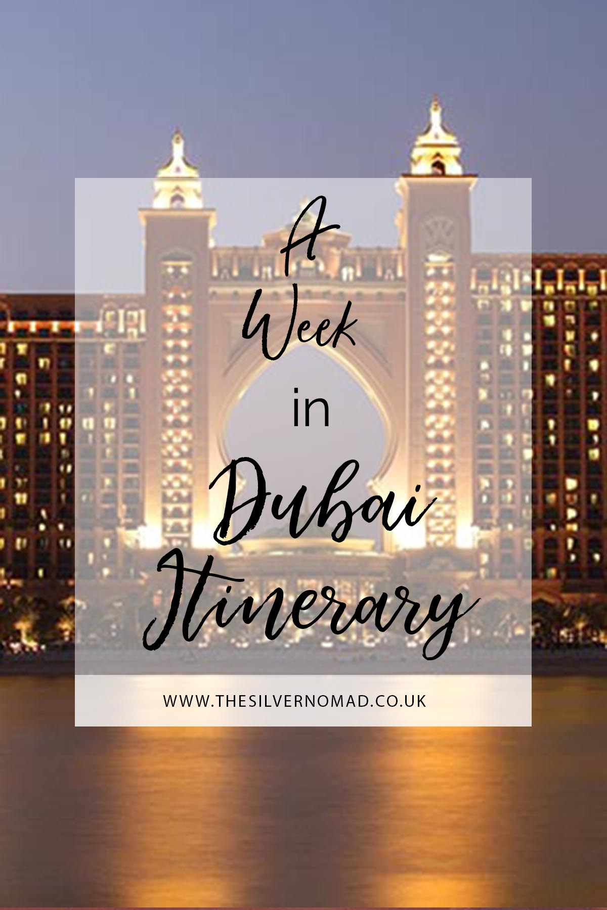 If you only have 7 days to spend in Dubai, read the perfect Dubai itinerary on how to make the most of your week and see all the sights.