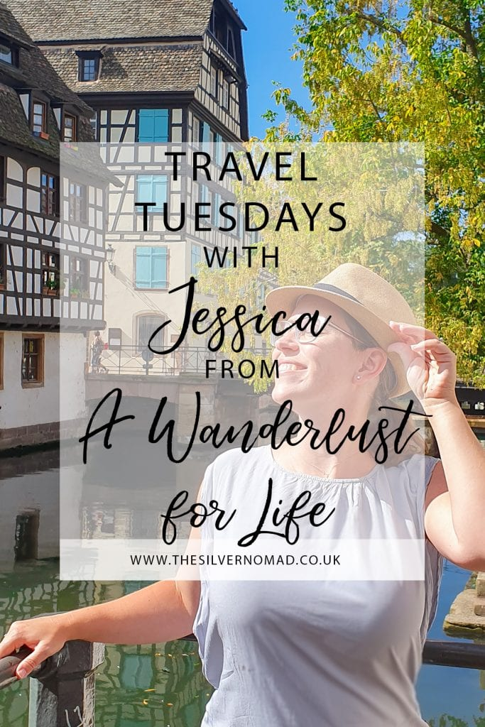 Travel Tuesday with A Wanderlust for Life. Jessica answers questions on her travel style, tips and favourite destinations to travel to.