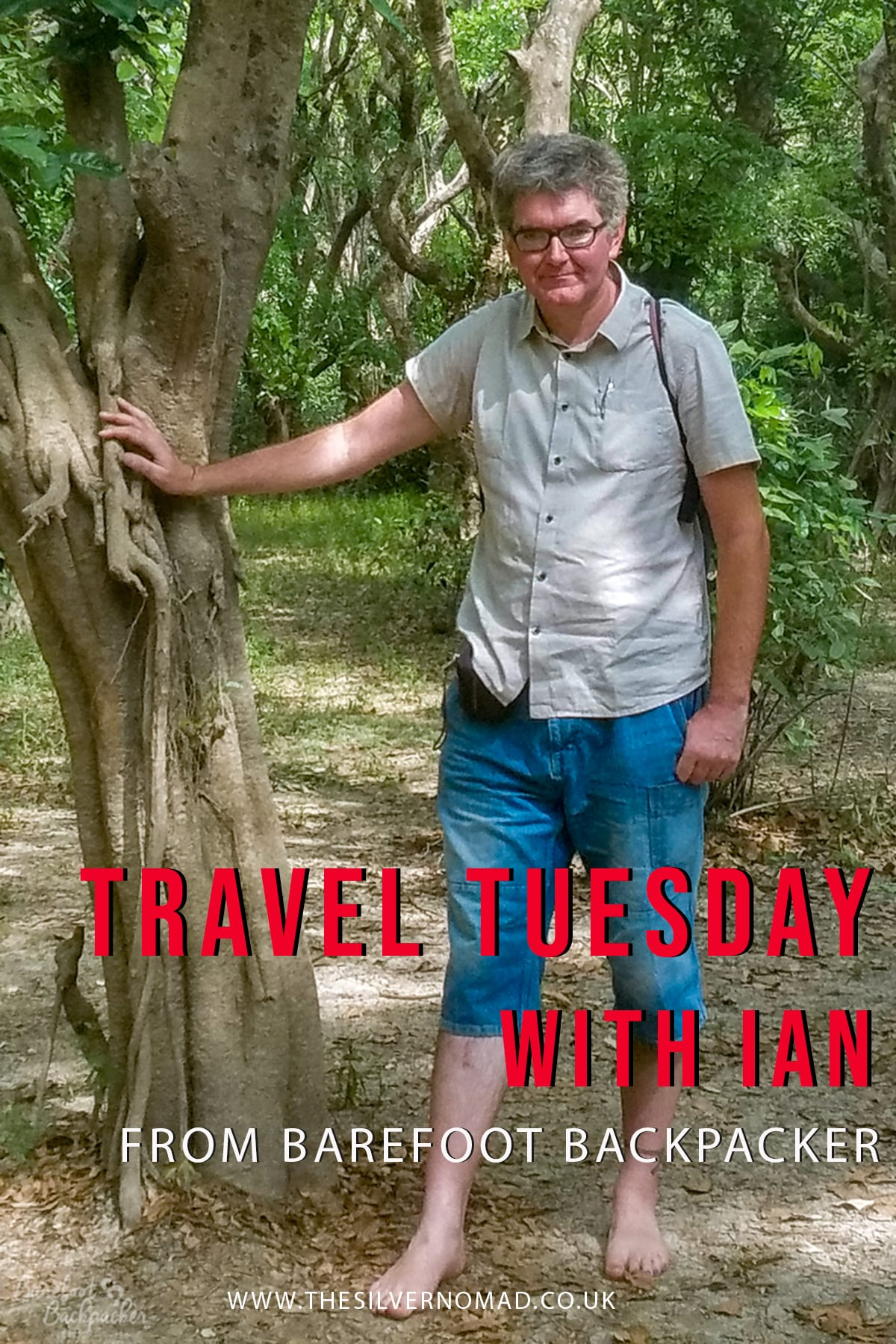 Travel Tuesday with Barefoot Backpacker. Ian answers questions on his travel style, tips and favourite destinations to travel to.