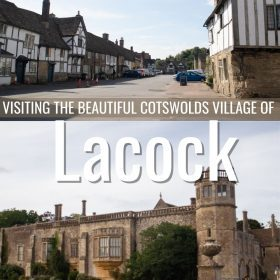 visiting the beautiful cotswolds village of Lacock